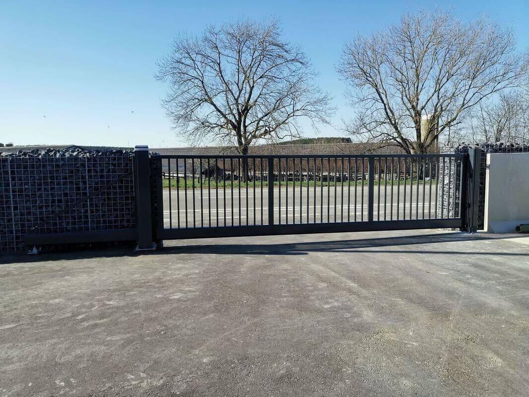 ABF Fermeture Noville barrière portail sécurisé entreprise
