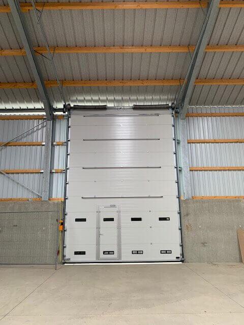 ABF Fermetures Portes sectionnelles industrielles