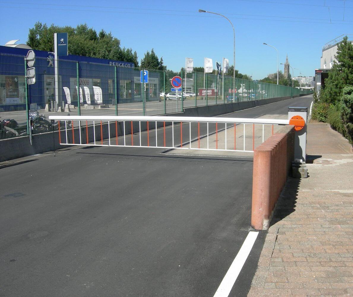 ABF fermetures barrière automatique parking
