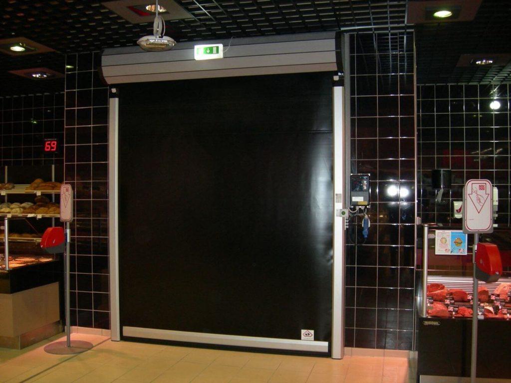 ABF fermeture installation porte ouverture rapide pour chambre froide