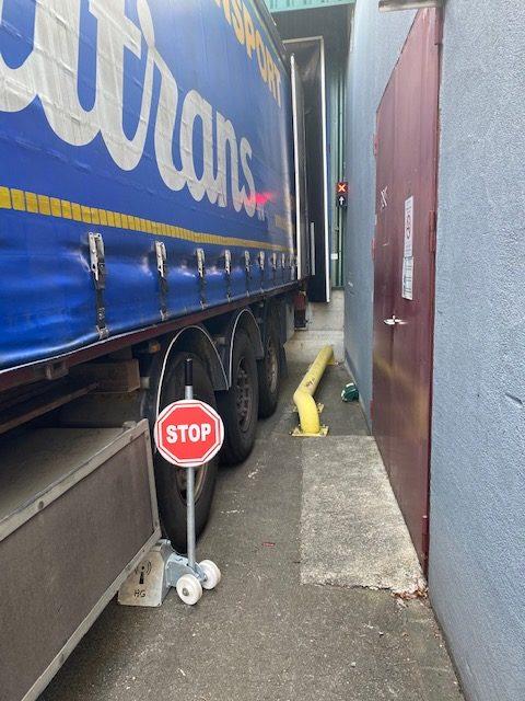Cale pour camions quai de chargement ABF Fermeture