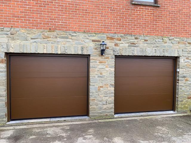 Porte de garage résidentiel ABF Fermetures