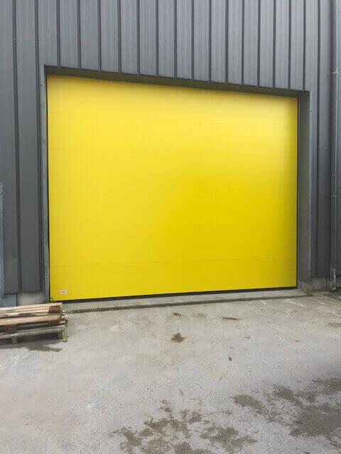 Porte sectionnelle industrielle ABF Fermeture