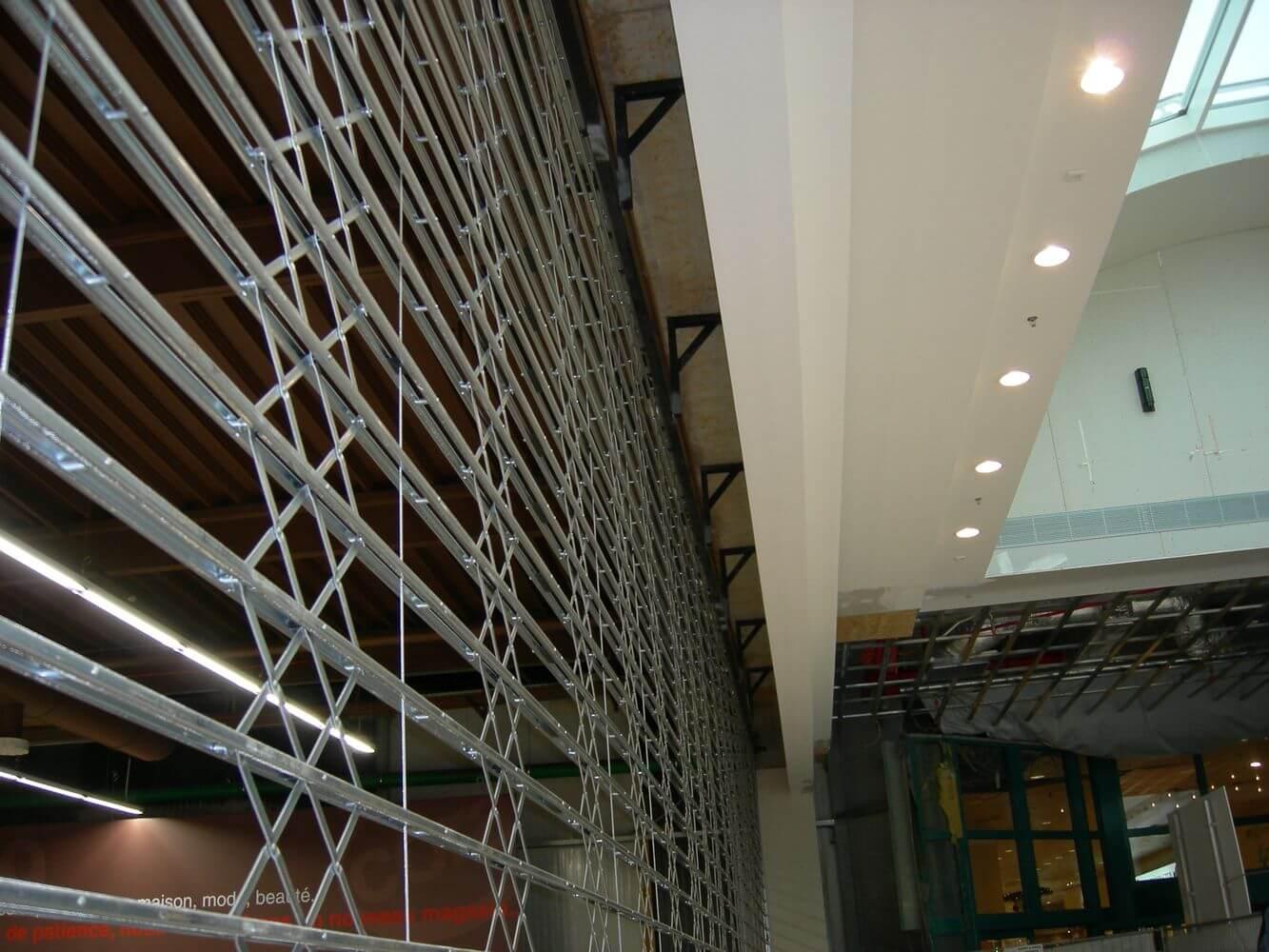 rideaux de magasin sécurité ABF fermetures Bastogne